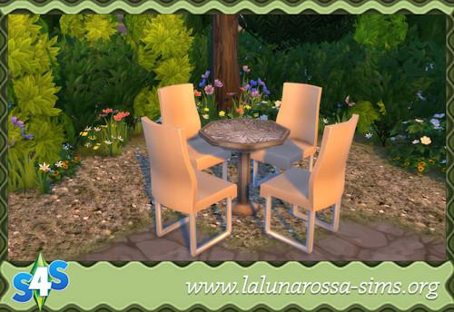 La Luna Rossa Sims: Polygon Table