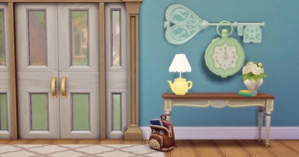 Hamburgercakes: Wonderland Deco Set