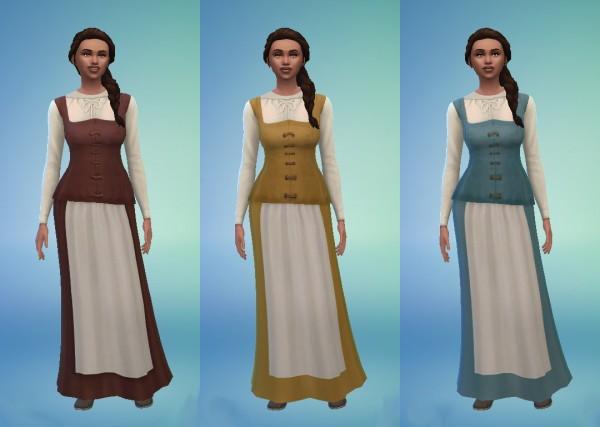 History Lovers Sims Blog: Celtic Dress