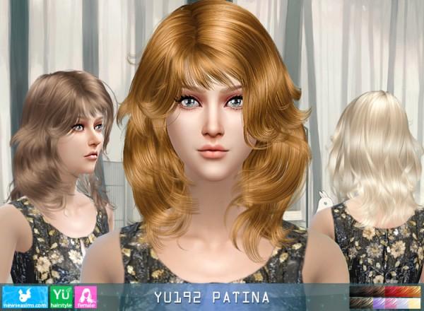 NewSea: YU192 Patina donation hairstyle
