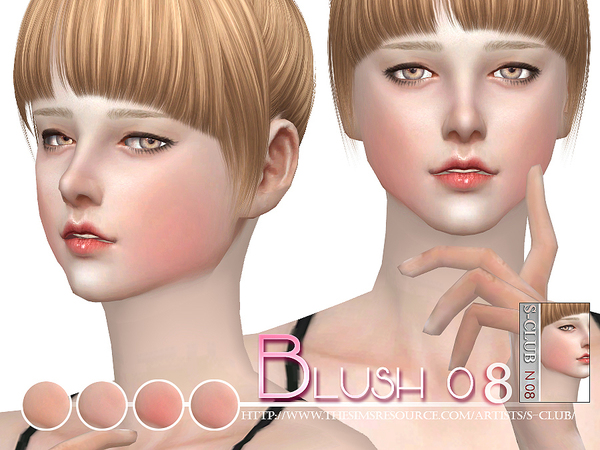 The Sims Resource: Blush 08 by S Club