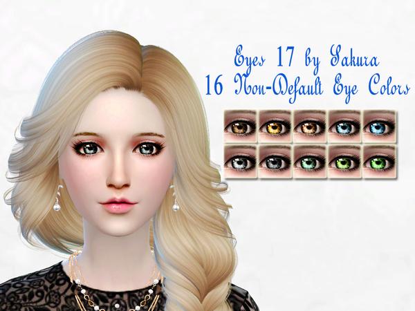 The Sims Resource: Eyes 17 by SakuraPhan