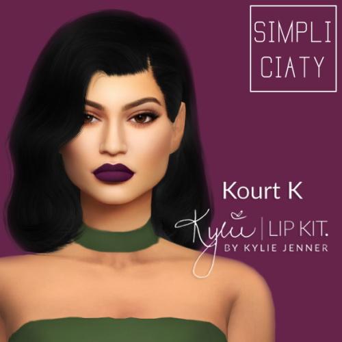 Simpliciaty: KOURT K   Kylie Lip Kit