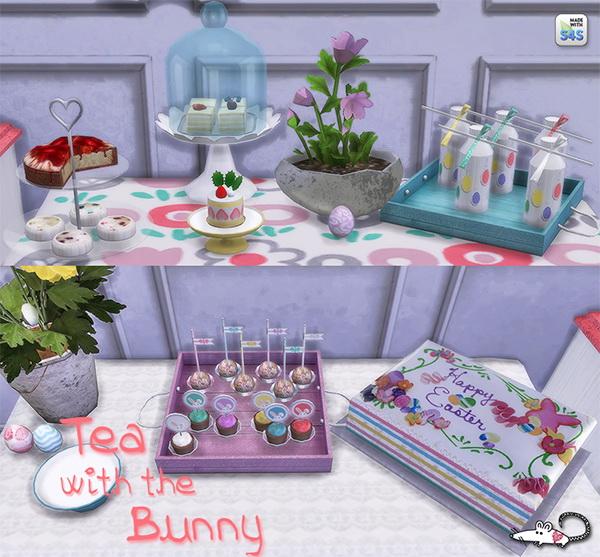 Loveratsims4: Tea With The Bunny