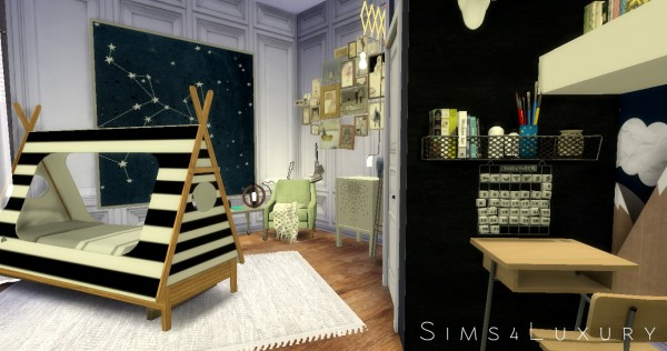 Sims4luxury Boy Room Sims 4 Downloads