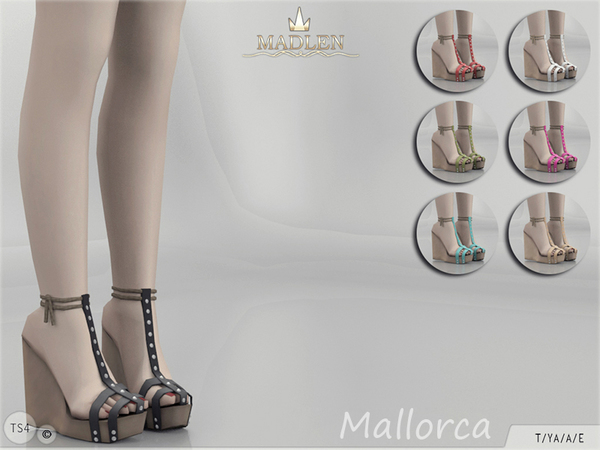 The Sims Resource: Madlen Mallorca Shoes by MJ95