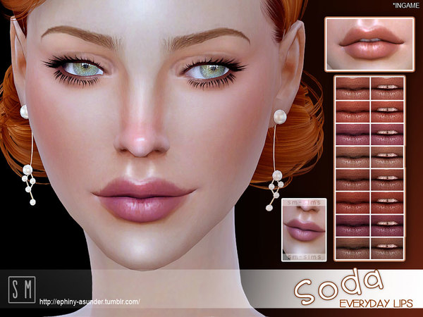 The Sims Resource: Soda   Everyday Lips by Screaming Mustard