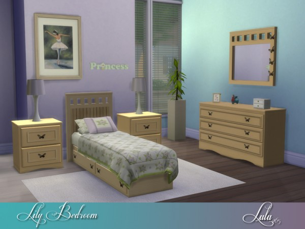 The Sims Resource: Lily Bedroom by Lulu265
