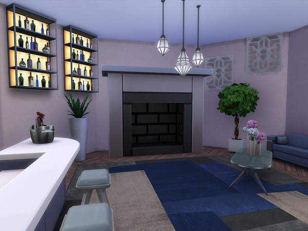 The Sims Resource: The Glass Lounge by Ineliz
