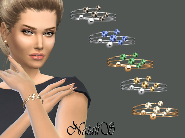 The Sims Resource: Bits and Baubles Bracelet by NataliS