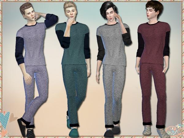 The Sims Resource: Loungewear Set  by Simlark