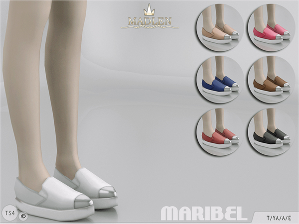 The Sims Resource: Madlen Maribel Shoes by MJ95