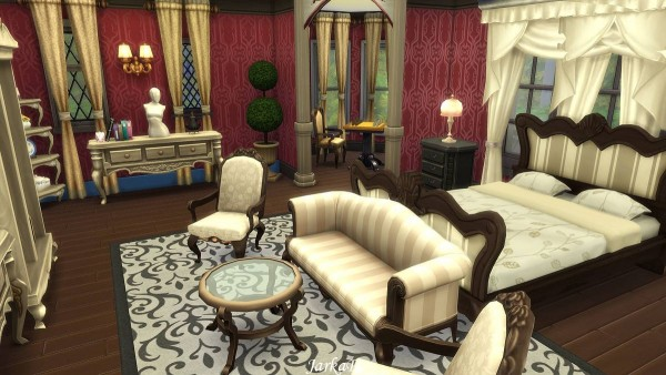 JarkaD Sims 4: Victorian villa – Mystery • Sims 4 Downloads