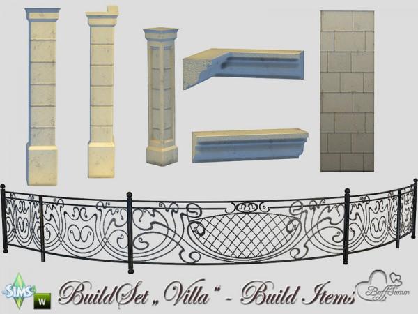 The Sims Resource: Build A Villa Build Items byBuffSumm