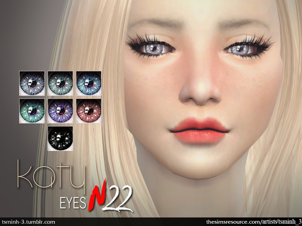 The Sims Resource: Katy Eyes by tsminh