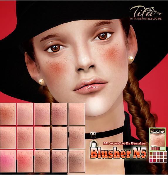 Tifa Sims: Blusher N5