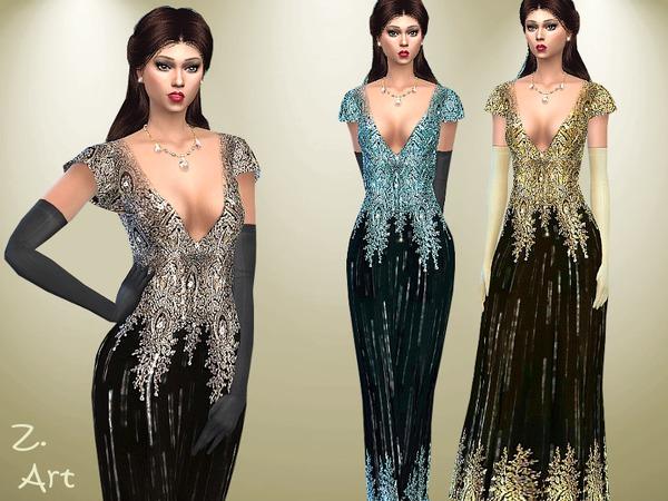 The Sims Resource: Preciousness dress by Zuckerschnute20