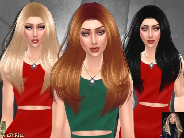 The Sims Resource: Sintiklia   Hair s37 Rita