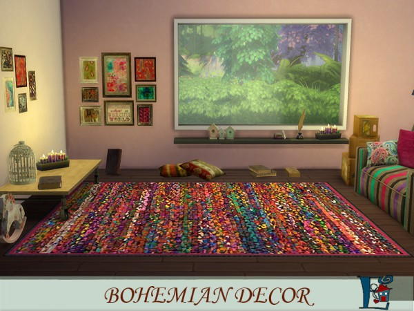 The Sims Resource: Bohemian decor by evi