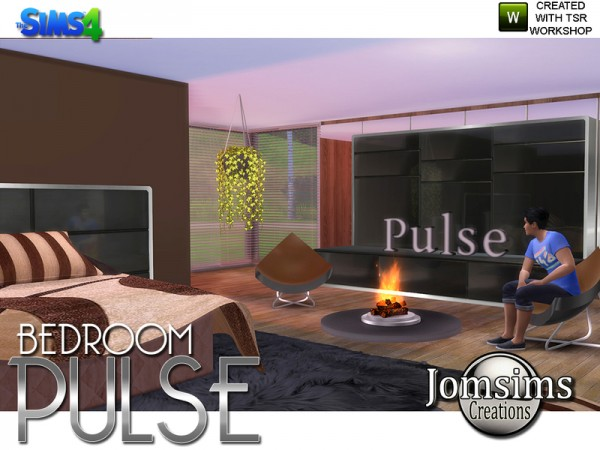The Sims Resource: Pulse Bedroom by jomsims