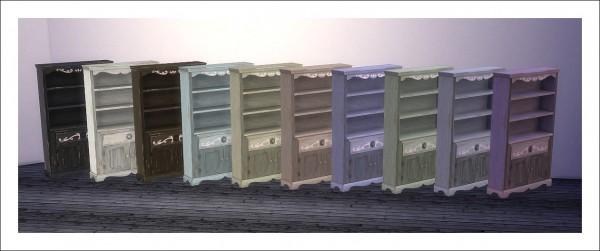 Sims 4 Designs Grandpas Grove Empty Bookshelf