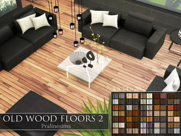 The Sims Resource Old Wood Floors 2 By Pralinesims Sims
