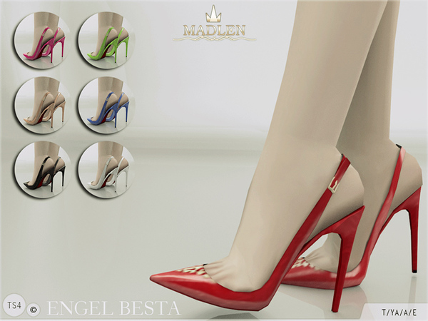 The Sims Resource: Madlen Engel Besta Shoes  by MJ95