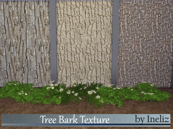 The Sims Resource: Tree Bark Texture by Ineliz