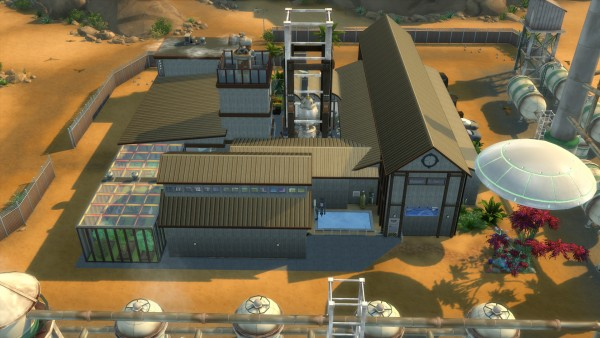 Mod The Sims Futuresim Labs Reimagined By Coolspear1