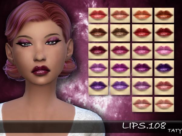 Simsworkshop: Lips 108 by Taty