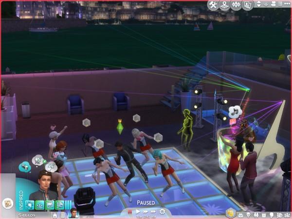 Mod The Sims: GT Group Dances Last Longer by Shimrod101