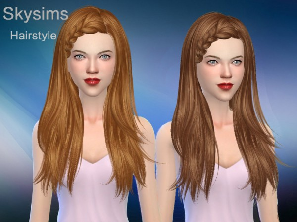 The Sims Resource: Skysims Hair 127