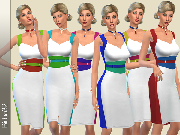 The Sims Resource: Cannella Spring Set by Birba32