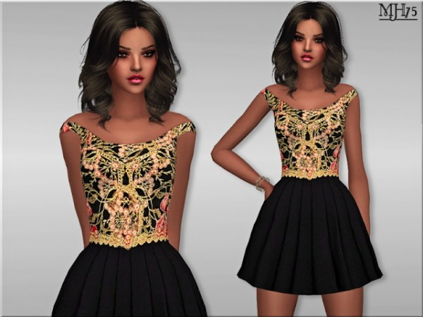 Sims Addictions: Si Bon Dress