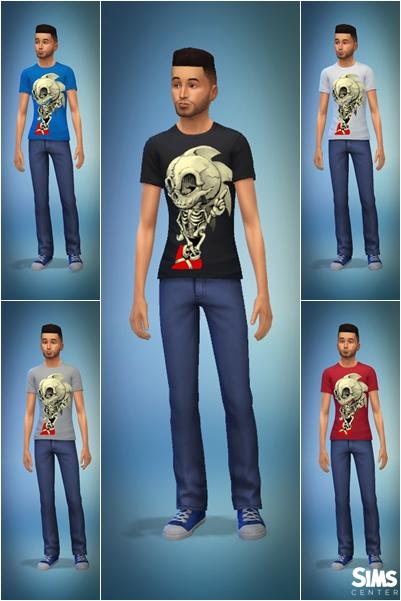 Sims Center: Sonic t shirt