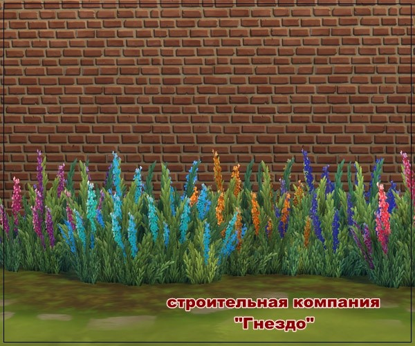 Sims 3 by Mulena: Lavender flower for garden