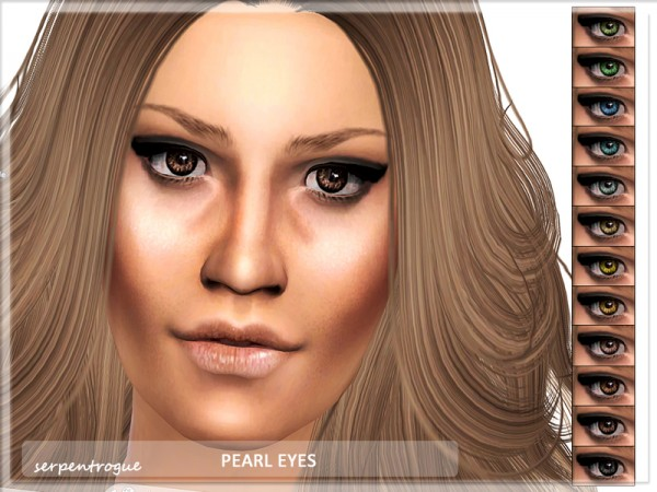 The Sims Resource: Pearl Eyes by Serpentogue