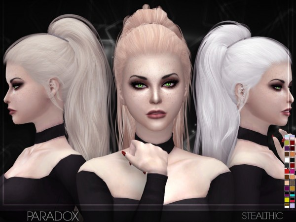 The Sims Resource: Stealthic   Paradox (Female Hair)