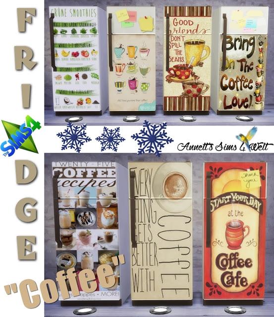 Annett`s Sims 4 Welt: Fridge Coffee