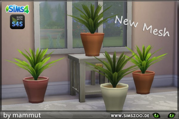 Blackys Sims 4 Zoo: Flower Pot 1 by mammut