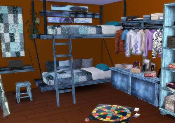 PQSims4: Mallorca Bedroom