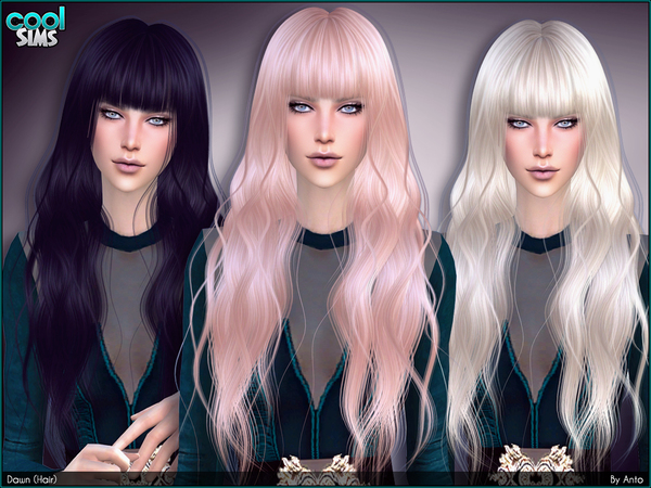 The Sims Resource: Anto   Dawn Hairstyle