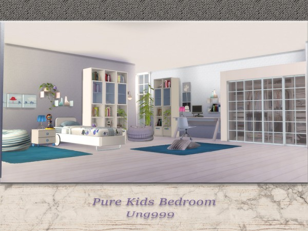 The Sims Resource: Pure Kids Bedroom by ung999