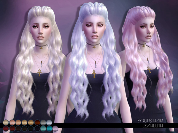 The Sims Resource: LeahLillith Souls Hair