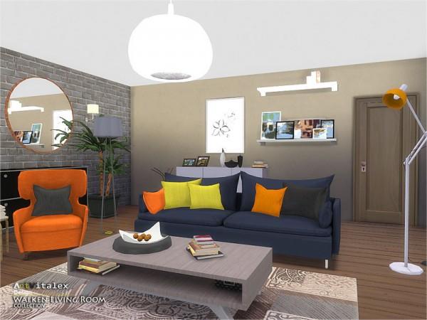The Sims Resource: Walken Living Room by ArtVitalex