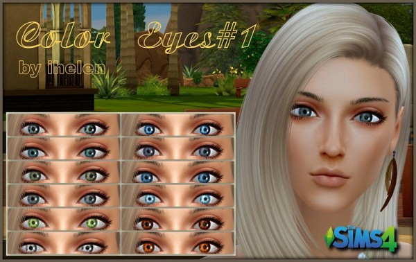 Ihelen Sims: Color Eyes 1