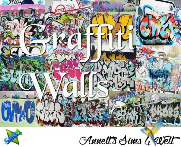 Annett`s Sims 4 Welt: Graffiti Walls