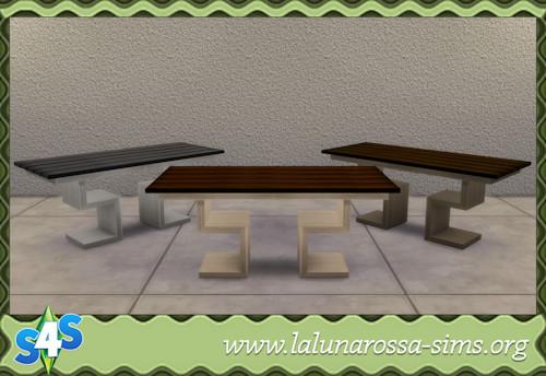 La Luna Rossa Sims: Dining Table