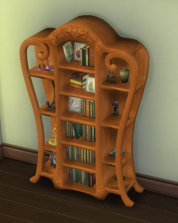 Simsworkshop: Bookshelf converted from TS2 to TS4 by Nouveaulicious