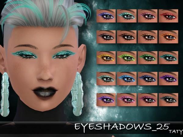 Simsworkshop: Eyeshadows 25 by Taty
